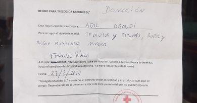 Material para la Cruz Roja