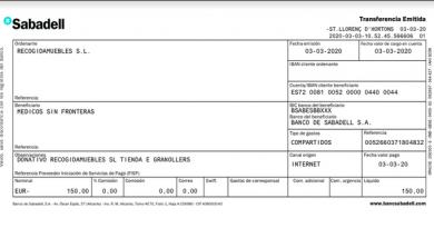 150 euros para Medicos sin Fronteras